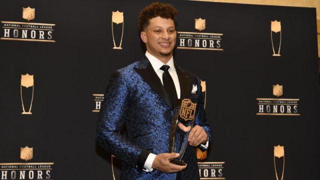Kansas City Chiefs quarterback Patrick Mahomes Receives 2019 MVP at NFL Honors