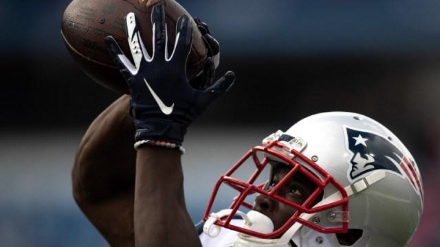 New England Patriots wide receiver Phillip Dorsett (13)
