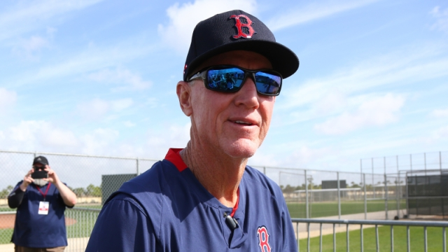 Boston Red Sox interim manager Ron Roenicke
