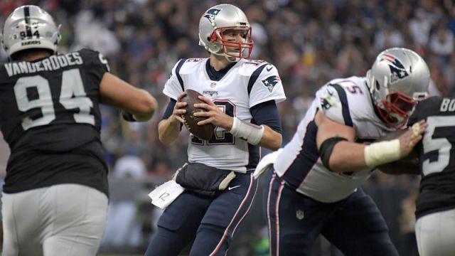 New England Patriots wide receiver Tom BRady
