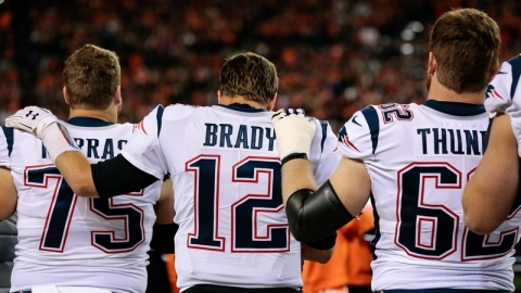 Ted Karras, Tom Brady, Joe Thuney