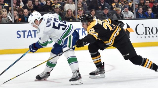Canucks vs. Bruins