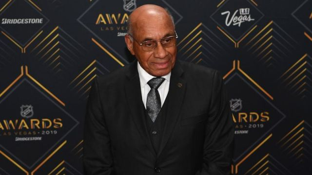 NHL Hall of Fame Inductee Willie O'Ree
