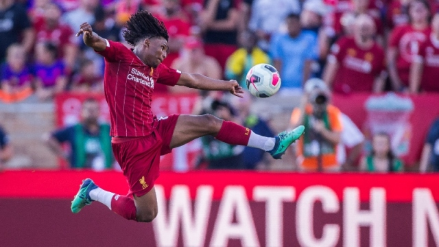 Liverpool forward Yasser Larouci