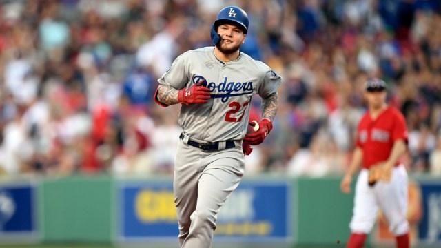 Dodgers OF Alex Verdugo