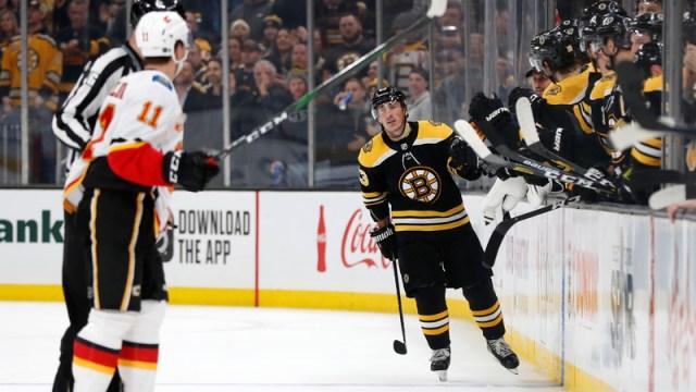 Bruins winger Brad Marchand