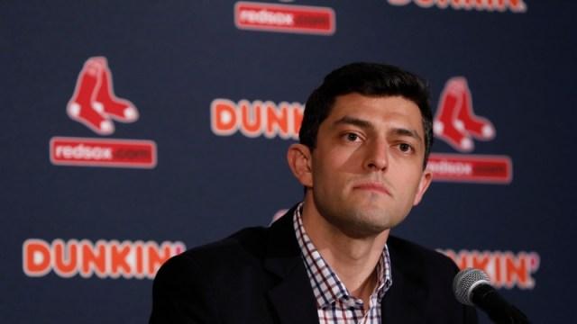 Boston Red Sox chief baseball officer Chaim Bloom