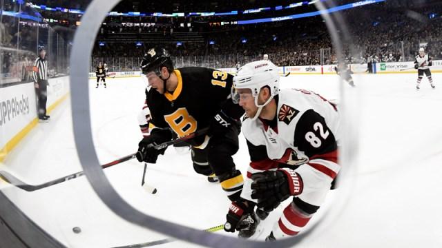 Boston Bruins' Charlie Coyle