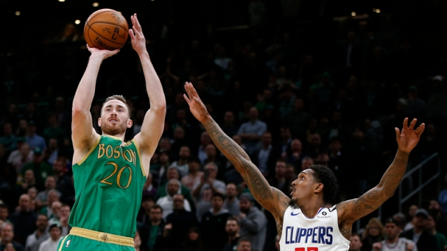 Boston Celtics swingman Gordon Hayward