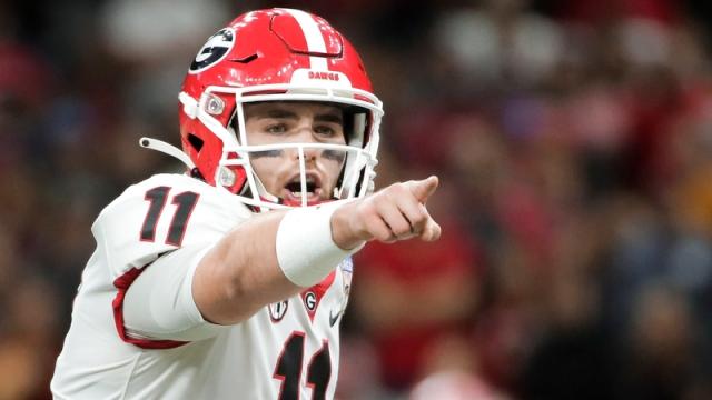 Georgia Bulldogs quarterback Jake Fromm