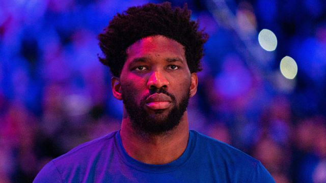 Philadelphia 76ers center Joel Embiid