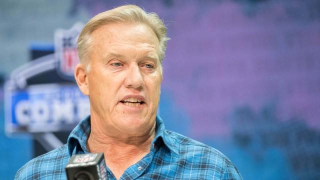 Denver Broncos general manager John Elway