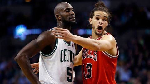 Boston Celtics forward/center Kevin Garnett