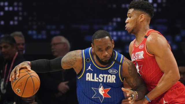 All-Star Game LeBron James