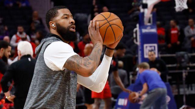 Detroit Pistons forward Markieff Morris