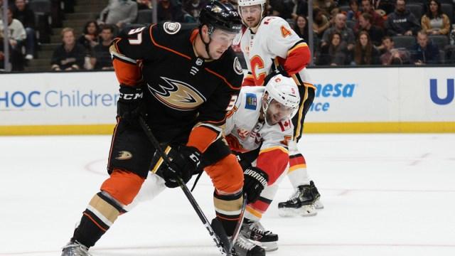 Ducks winger Nick Ritchie