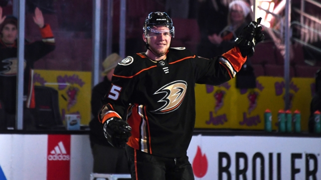 Ducks winger Ondrej Kase