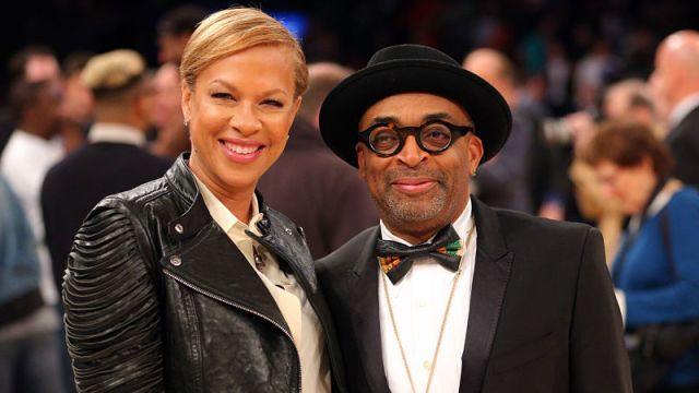 American actor and director Spike Lee