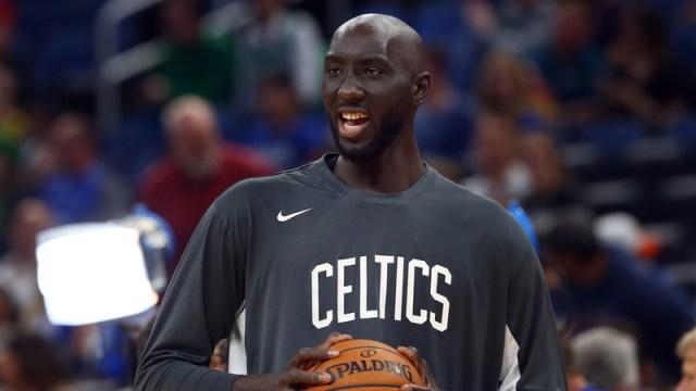 Boston Celtics two-way center Tacko Fall