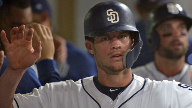 San Diego Padres outfielder Wil Myers