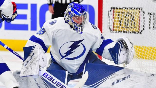 Tampa Bay Lightning's Andrei Vasilevskiy