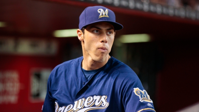 Milwaukee Brewers outfielder Christian Yelich