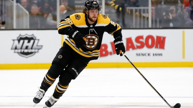 David Pastrnak Boston Bruins