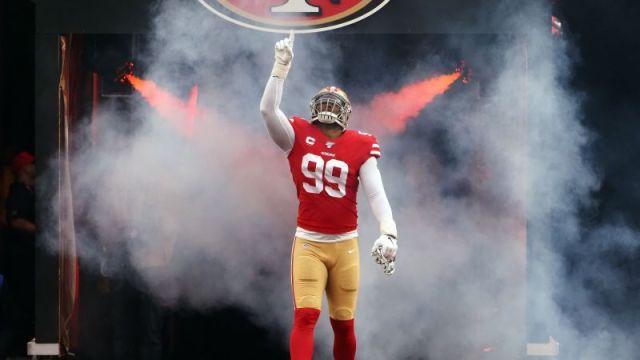 San Francisco 49ers' DeForest Buckner