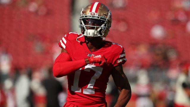 NFL wide receiver Emmanuel Sanders