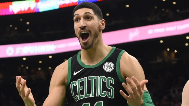 Boston Celtics Center Enes Kanter
