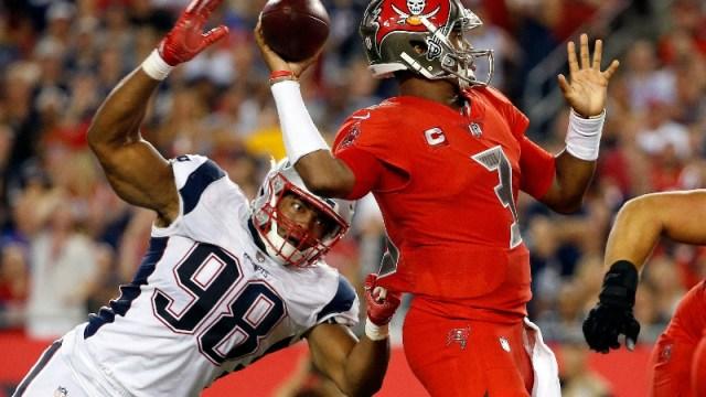 NFL quarterback Jameis Winston (3)