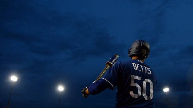 Los Angeles Dodgers outfielder Mookie Betts