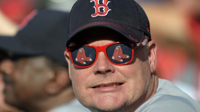 A fan of the Boston Red Sox
