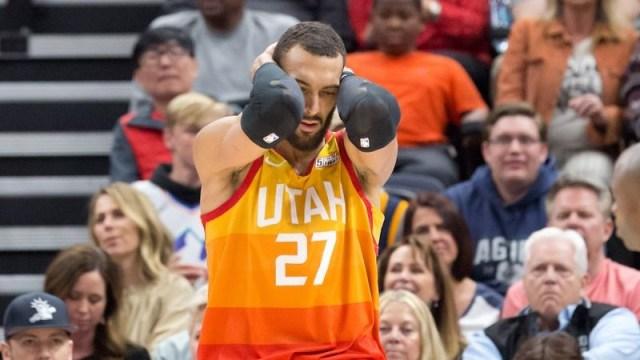 Utah Jazz center Rudy Gobert