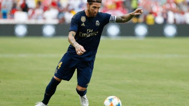 Real Madrid defender Sergio Ramos (4)