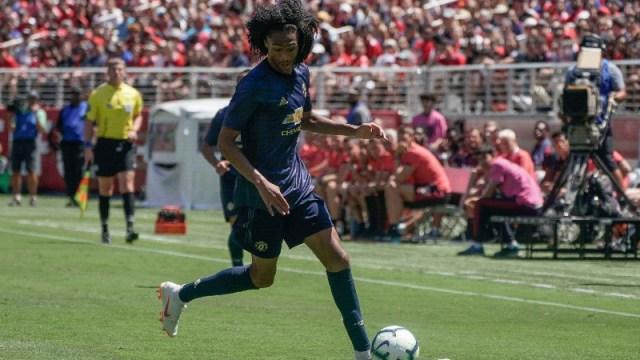 Manchester United forward Tahiti Chong (44)