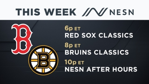 NESN Programming between March 20 and 28