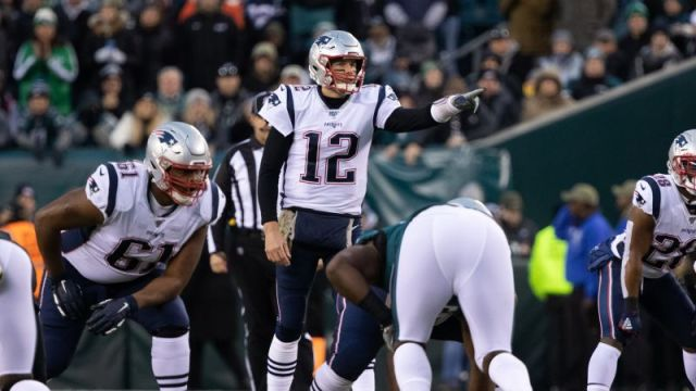 New England Patriots' Tom Brady