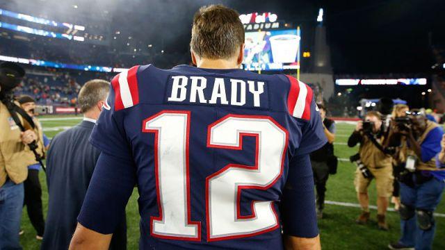NFL quarterback Tom Brady