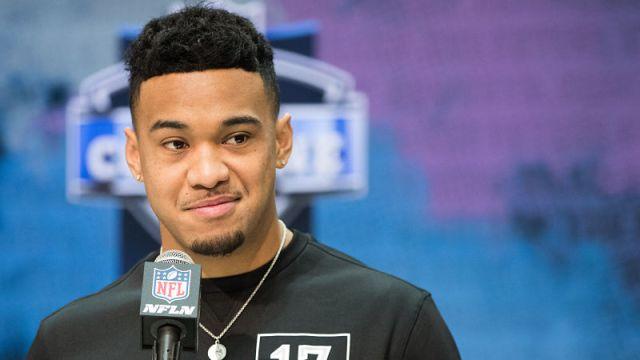 NFL draft prospect Tua Tagovailoa