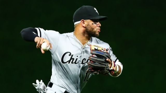 Chicago White Sox third basemen Yoan Moncada