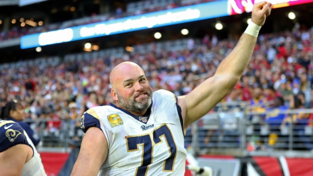 Los Angeles Rams offensive tackle Andrew Whitworth
