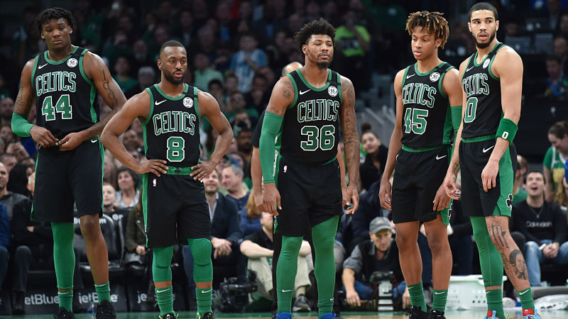 Celtics odds to win championship