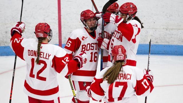 Boston University Women's Hockey
