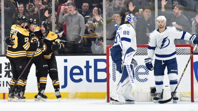 Boston Bruins' Charlie McAvoy