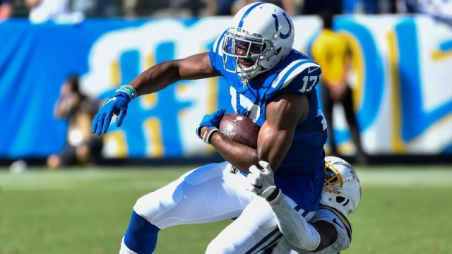 Former Indianapolis Colts receiver Devin FUnchess