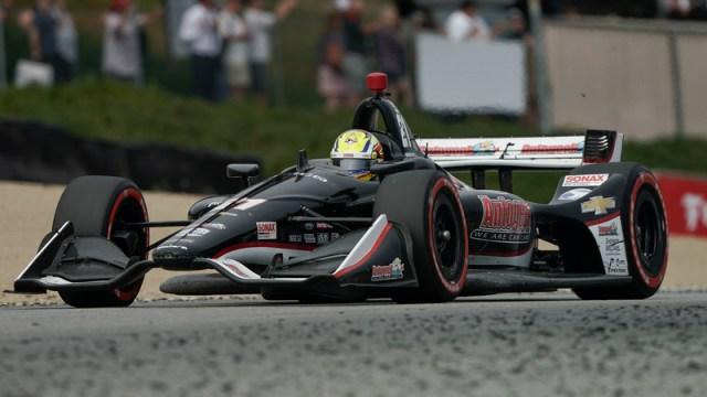 IndyCar driver Spencer Pigot