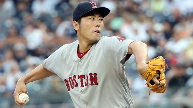 Former MLB pitcher Koji Uehara