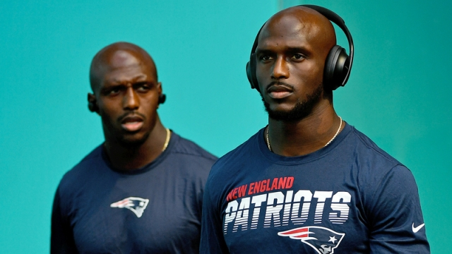 New England Patriots Jason McCourty and Devin McCourty