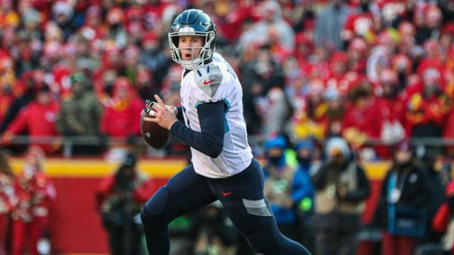 Tennessee Titans quarterback Ryan Tannehill